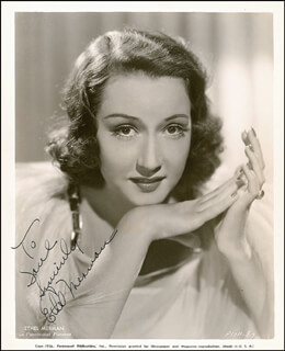 ETHEL MERMAN - AUTOGRAPHED INSCRIBED PHOTOGRAPH CIRCA 1936