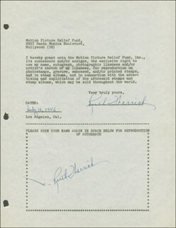 RUTH WARRICK - DOCUMENT DOUBLE SIGNED 07/16/1946