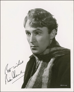 Autographs: BRIAN AHERNE - INSCRIBED PHOTOGRAPH SIGNED CIRCA 1936