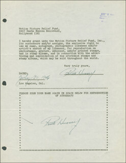 RUTH HUSSEY - DOCUMENT DOUBLE SIGNED 07/30/1946