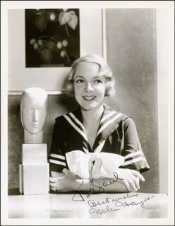HELEN HAYES - AUTOGRAPHED INSCRIBED PHOTOGRAPH CIRCA 1934
