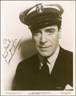 JACK BUCHANAN - AUTOGRAPHED INSCRIBED PHOTOGRAPH CIRCA 1936