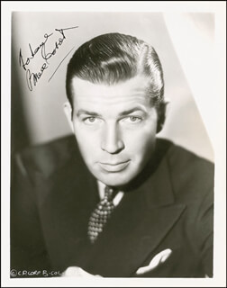 BRUCE CABOT - AUTOGRAPHED INSCRIBED PHOTOGRAPH CIRCA 1939