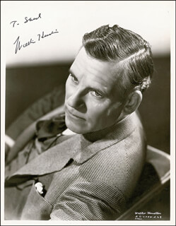 WALTER HUSTON - AUTOGRAPHED INSCRIBED PHOTOGRAPH CIRCA 1938