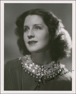 NORMA SHEARER - AUTOGRAPHED INSCRIBED PHOTOGRAPH CIRCA 1938