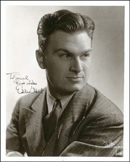 EDDIE ALBERT - AUTOGRAPHED INSCRIBED PHOTOGRAPH CIRCA 1938