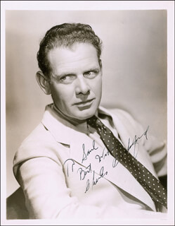 CHARLES BICKFORD - AUTOGRAPHED INSCRIBED PHOTOGRAPH CIRCA 1938