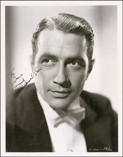DONALD COOK - AUTOGRAPHED INSCRIBED PHOTOGRAPH CIRCA 1938