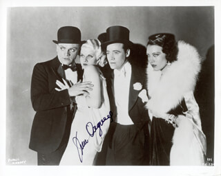 JAMES CAGNEY - AUTOGRAPHED SIGNED PHOTOGRAPH