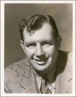 ANDY DEVINE - AUTOGRAPHED INSCRIBED PHOTOGRAPH CIRCA 1939
