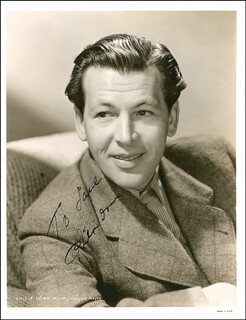 PHILIP DORN - AUTOGRAPHED INSCRIBED PHOTOGRAPH CIRCA 1947