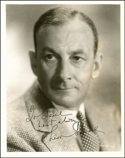 LEON ERROL - AUTOGRAPHED INSCRIBED PHOTOGRAPH CIRCA 1937