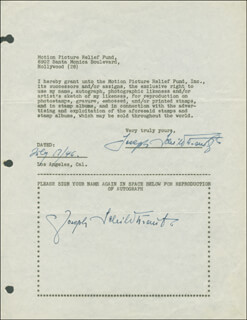 JOSEPH SCHILDKRAUT - DOCUMENT DOUBLE SIGNED 07/17/1946