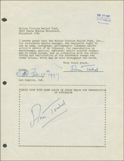 ANN TODD - DOCUMENT MULTI-SIGNED 02/17/1947