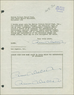 ANNABELLA - DOCUMENT MULTI-SIGNED 08/29/1946