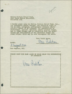 VERA H. RALSTON - DOCUMENT DOUBLE SIGNED 08/08/1946