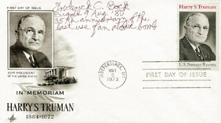 BOCK'S CAR CREW (FRED BOCK) - FIRST DAY COVER SIGNED 08/09/1980  - HFSID 28931