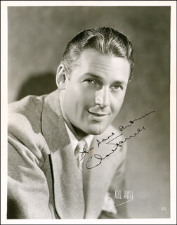 CHARLES FARRELL - AUTOGRAPHED INSCRIBED PHOTOGRAPH CIRCA 1939