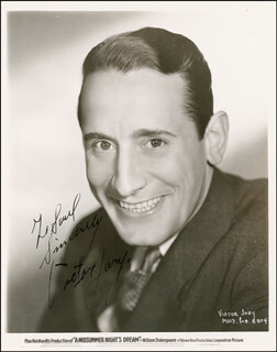 Autographs: VICTOR JORY - INSCRIBED PHOTOGRAPH SIGNED CIRCA 1937