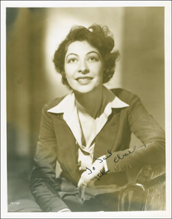 ILKA CHASE - AUTOGRAPHED INSCRIBED PHOTOGRAPH CIRCA 1937