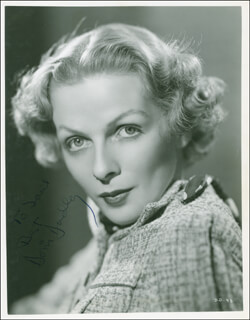 DORIS DUDLEY - AUTOGRAPHED INSCRIBED PHOTOGRAPH CIRCA 1936