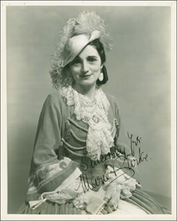MARIE BURKE - AUTOGRAPHED INSCRIBED PHOTOGRAPH CIRCA 1935