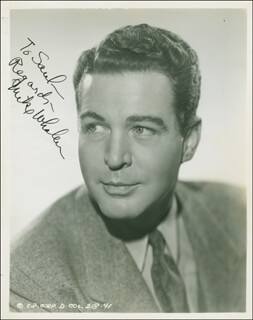 MICHAEL WHALEN - AUTOGRAPHED INSCRIBED PHOTOGRAPH CIRCA 1939