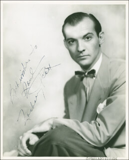 ZACHARY SCOTT - AUTOGRAPHED INSCRIBED PHOTOGRAPH CIRCA 1944