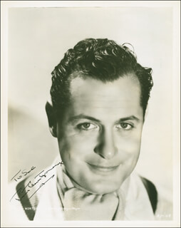 ROBERT MONTGOMERY - AUTOGRAPHED INSCRIBED PHOTOGRAPH CIRCA 1935