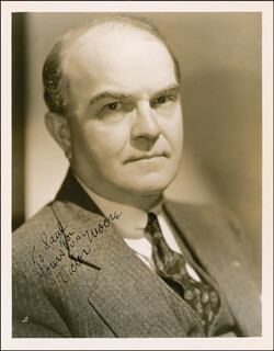 VICTOR MOORE - AUTOGRAPHED INSCRIBED PHOTOGRAPH CIRCA 1935