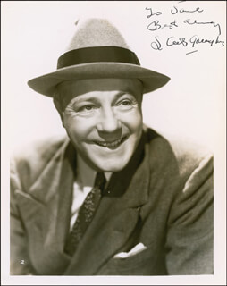 RICHARD SKEETS GALLAGHER - AUTOGRAPHED INSCRIBED PHOTOGRAPH CIRCA 1940