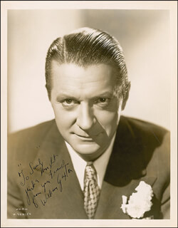 WILLIAM GAXTON - AUTOGRAPHED INSCRIBED PHOTOGRAPH CIRCA 1935