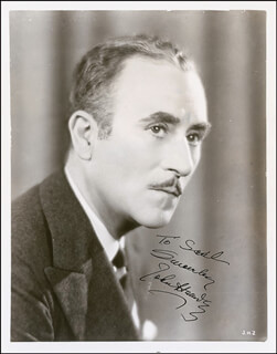 JOHN HALLIDAY - AUTOGRAPHED INSCRIBED PHOTOGRAPH CIRCA 1934