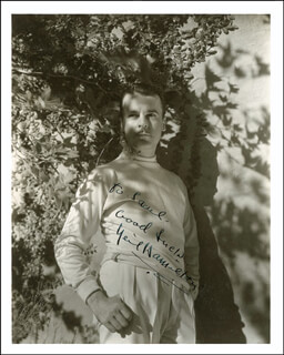 NEIL HAMILTON - AUTOGRAPHED INSCRIBED PHOTOGRAPH CIRCA 1945