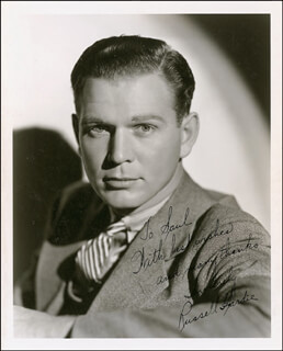 RUSSELL HARDIE - AUTOGRAPHED INSCRIBED PHOTOGRAPH CIRCA 1937