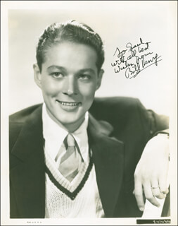 WILLIAM BILL HENRY - AUTOGRAPHED INSCRIBED PHOTOGRAPH CIRCA 1939