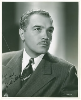 Autographs: WALTER ABEL - INSCRIBED PHOTOGRAPH SIGNED CIRCA 1936