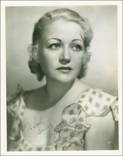 WYNNE (WINIFRED) GIBSON - AUTOGRAPHED INSCRIBED PHOTOGRAPH CIRCA 1934