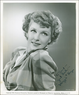 MARGARET MAGGIE HAYES - AUTOGRAPHED INSCRIBED PHOTOGRAPH