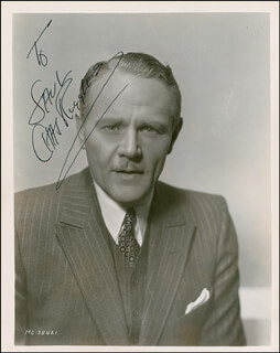 CHARLIE RUGGLES - AUTOGRAPHED INSCRIBED PHOTOGRAPH CIRCA 1935