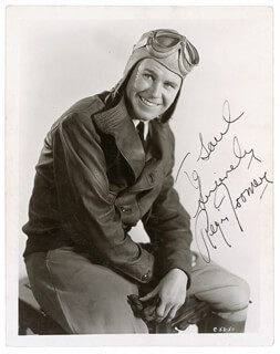 REGIS TOOMEY - AUTOGRAPHED INSCRIBED PHOTOGRAPH CIRCA 1936