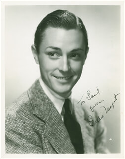 EDWARD J. EDDIE NUGENT - AUTOGRAPHED INSCRIBED PHOTOGRAPH CIRCA 1937
