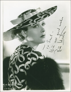 RUTH WESTON - AUTOGRAPHED INSCRIBED PHOTOGRAPH CIRCA 1936