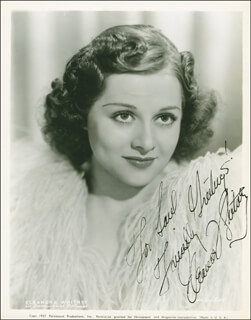 ELEANORE WHITNEY - AUTOGRAPHED INSCRIBED PHOTOGRAPH CIRCA 1939