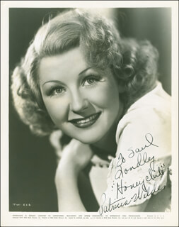 PATRICIA WILDER - AUTOGRAPHED INSCRIBED PHOTOGRAPH CIRCA 1940