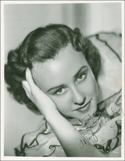 MARGARET LINDSAY - AUTOGRAPHED INSCRIBED PHOTOGRAPH CIRCA 1937