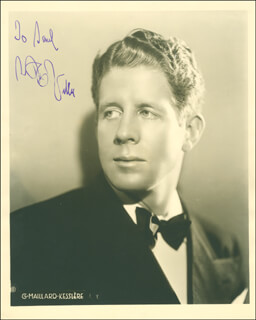 RUDY VALLEE - AUTOGRAPHED INSCRIBED PHOTOGRAPH CIRCA 1934