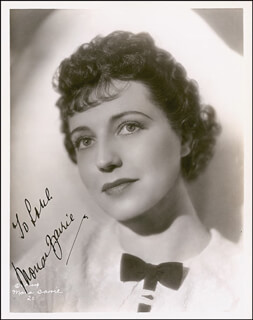 MONA BARRIE - AUTOGRAPHED INSCRIBED PHOTOGRAPH CIRCA 1937