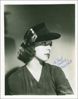 LOUISE PLATT - AUTOGRAPHED INSCRIBED PHOTOGRAPH CIRCA 1938