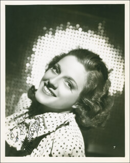 MARTHA SLEEPER - AUTOGRAPHED INSCRIBED PHOTOGRAPH CIRCA 1936
